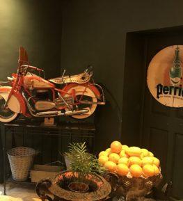 intérieur restaurant italien avignon